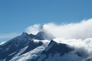 The view from the Whare Kea Chalet where we based for an afternoon.